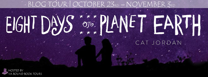 Eight Days on Planet Earth tour banner